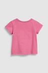 Next Pink Sequin Dinosaur Short Sleeve T-Shirt