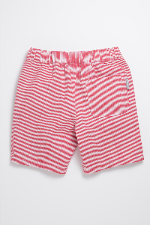 Pumpkin Patch Drill Stripe Shorts