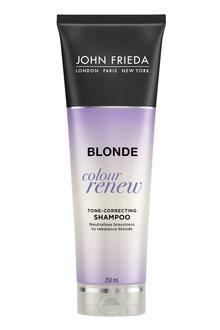 John Frieda Sheer Blonde Color Renew Tone Correct Shampoo