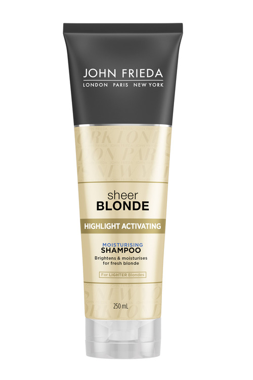 John Frieda Sheer Blonde Moist Shampoo Light Shades