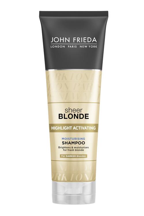 John Frieda Sheer Blonde Moist Shampoo Dark Shades