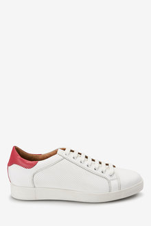 Next Signature Leather Lace-Up Trainers