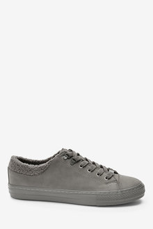 Next Borg Lined Lace-Up Trainers