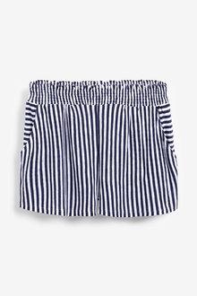 Next Striped Shorts-Tall