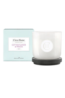 Circa Home Classic Cotton Flower & Freesia