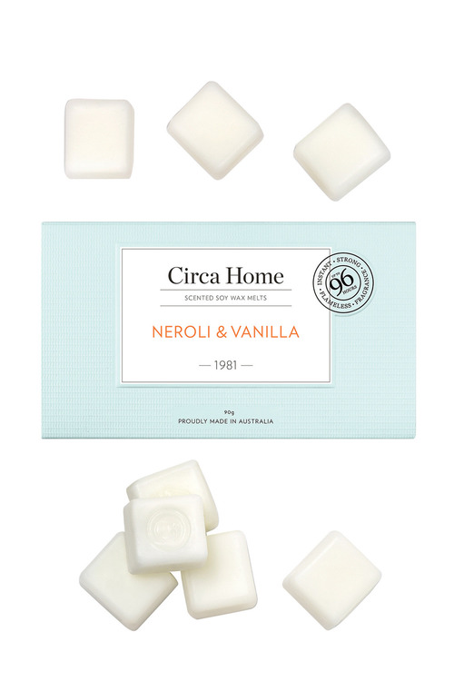 Circa Home Soy Melts Neroli & Vanilla