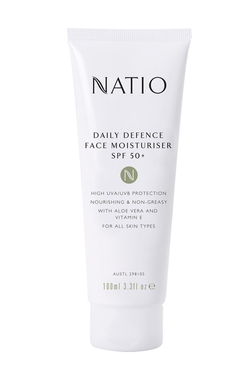 Natio Daily Defence Face Moisturiser SPF 50+