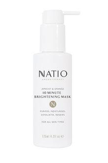 Natio Apricot & Orange 10 Minute Brightening Mask