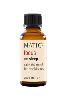 Natio Focus on Sleep Pure Essential Oil Blend