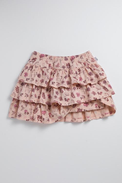 Pumpkin Patch Ruffle Skirt