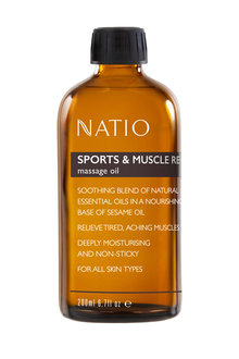 Natio Massage Oil Sports & Muscle Recovery