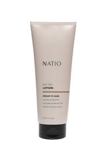 Natio Self Tan Lotion Medium to Dark