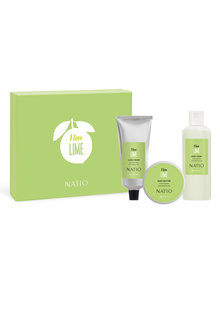 Natio I Love Lime Gift Set