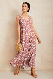 Grace Hill Tiered Maxi Dress - 244521