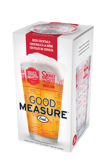 Fred Good Measure Beer Recipe Glass