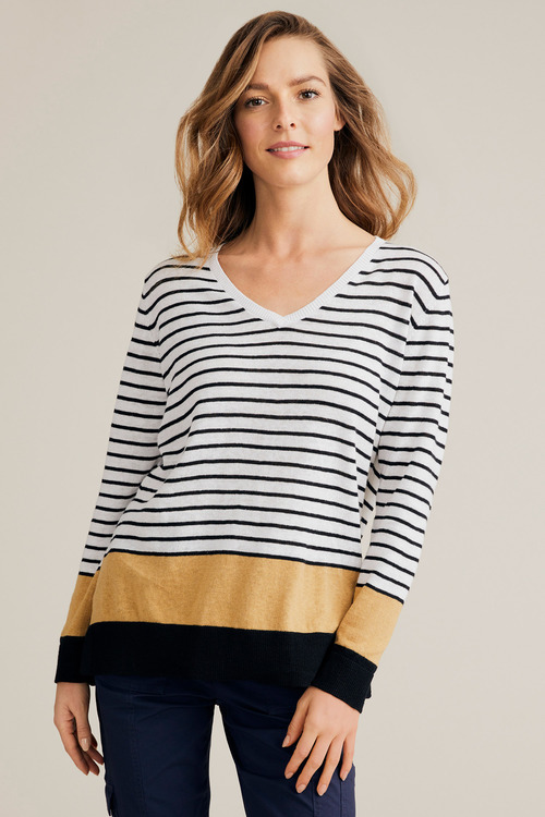 Capture Stripe Knit