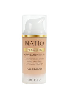 Natio Flawless Foundation SPF 15