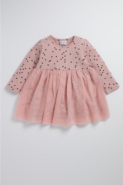 Pumpkin Patch Confetti Tulle Dress