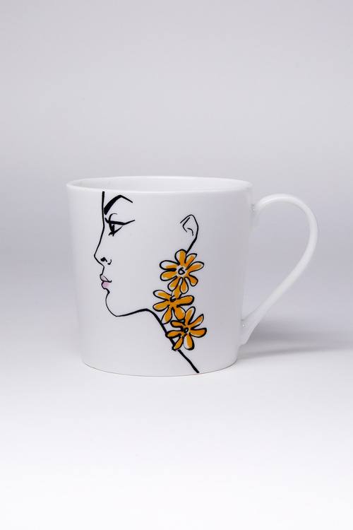 Jayson Brunsdon Daisy Art Mug