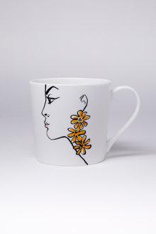 Jayson Brunsdon Daisy Art Mug - 244819