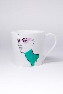 Jayson Brunsdon Pinkshades Art Mug - 244822