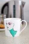 Jayson Brunsdon Pinkshades Art Mug