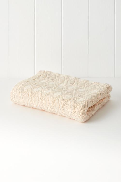 Washable Merino Baby Blanket