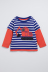 Pumpkin Patch Organic Cotton Double Layer Digger Tee