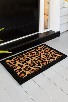 Jayson Brunsdon Leopard Doormat