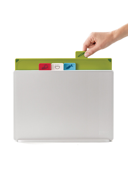 Joseph Joseph Index Chopping Boards Large Silver