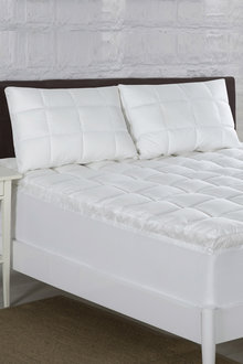 Bianca Relax Right Microfibre Mattress Topper