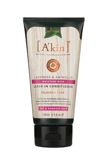 A'kin Moisture Rich Lavender & Anthyllis Leave-In Conditioner