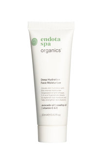 endota Organics Deep Hydration Face Moisturiser 20ml GWP