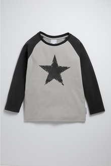 Pumpkin Patch Star Raglan Tee