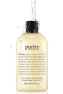 Philosophy Purity Made Simple 3 in 1 Cleanser for Face & Eyes