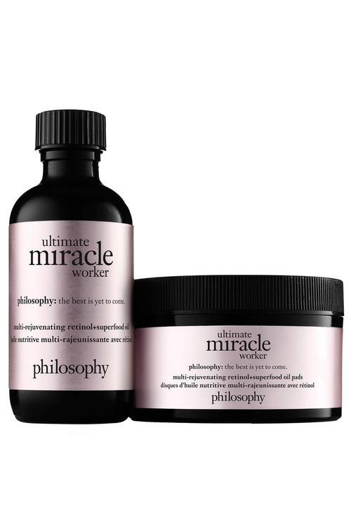 Philosophy Ultimate Miracle Worker Multi-Rejuvenating Retinol & Superfood Oil Pads