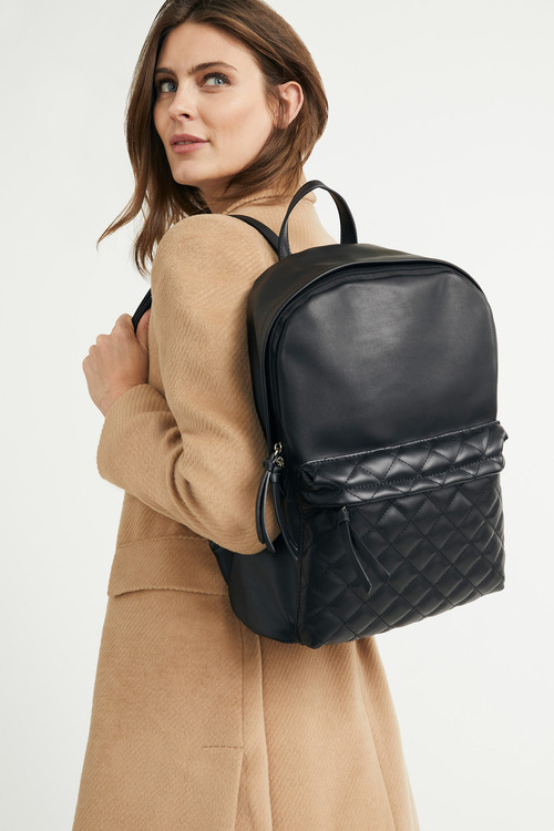 Chanel Quilt Embossed Backpack