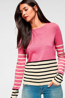 Urban Stripe Sweater - 246827