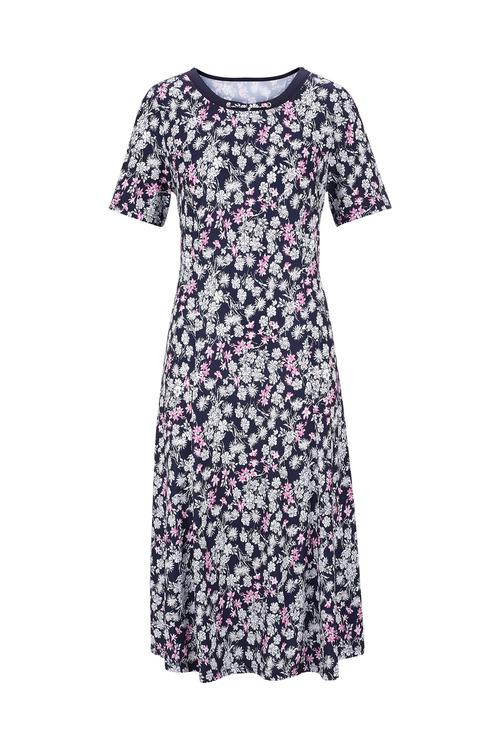 Euro Edit Floral Print Dress