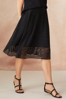 Emerge Textured Circle Skirt - 247108