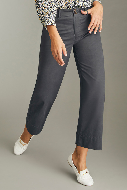 Emerge Straight Cropped Pants