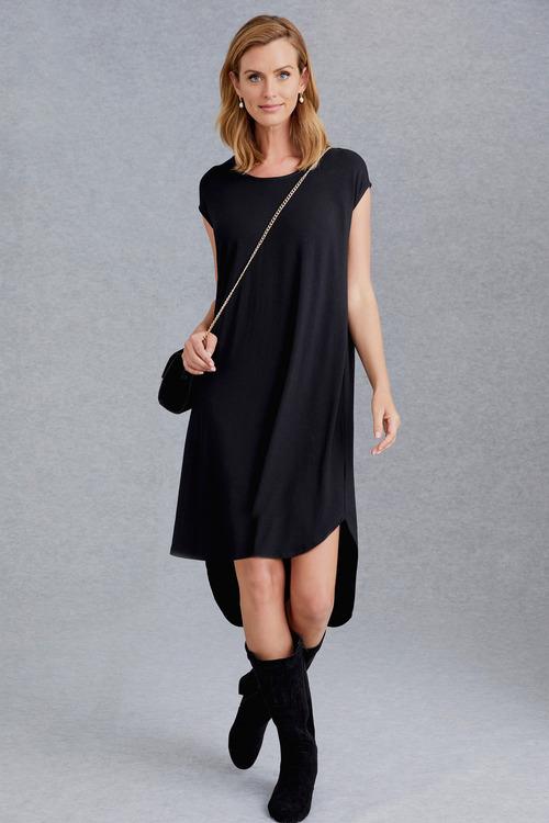 Grace Hill Hi Lo Midi Dress