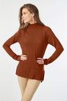Grace Hill Merino Silk Funnel Neck Sweater