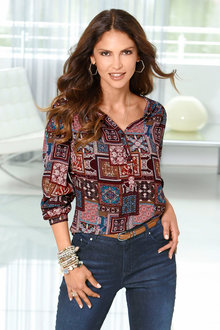 Euro Edit Printed Top