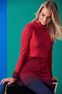Euro Edit Colourblock Pullover - 247204