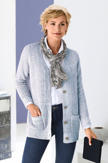 Euro Edit Classic Pocket Cardigan - 247206
