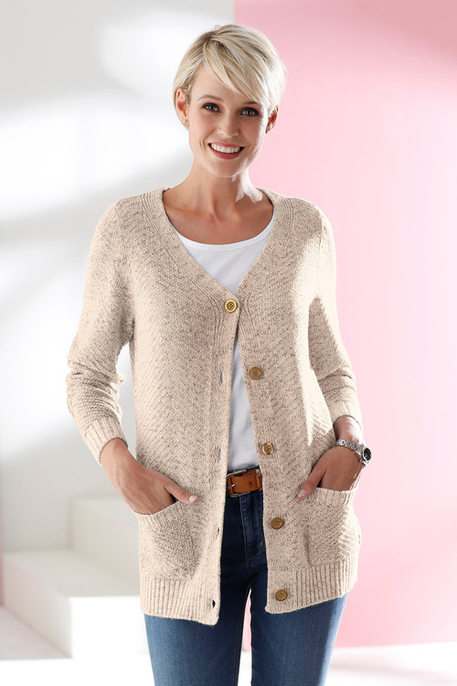 Euro Edit Classic Pocket Cardigan
