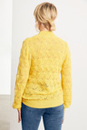 Emerge Fluffy Pointelle Sweater