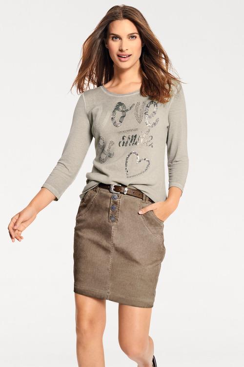 Urban Pigment Dye Skirt