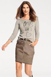 Urban Pigment Dye Skirt - 247331